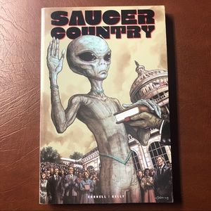 Saucer Country by Cornell, Paul.